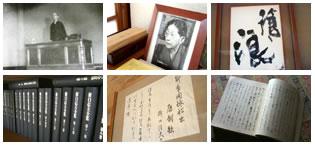 岡野先生の書斎